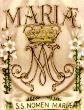 Image result for Free pictures of the feast of the Name of Mary